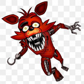 Nightmare Foxy - Five Nights At Freddy's 2 Drawing Video Game PNG