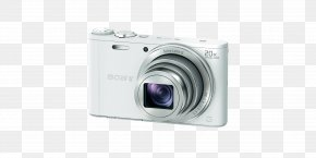 Camera - Point-and-shoot Camera 索尼 Active Pixel Sensor Zoom Lens PNG