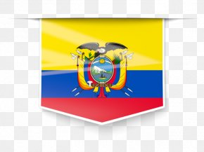 Flag - Flag Of Ecuador National Flag Guayas River Flags Of The World PNG