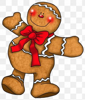 Gingerbread Man Ornament Clipart - The Gingerbread Man Cookie Clip Art PNG