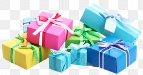 Present Background Wallpaper - Clip Art Gift Wrapping Birthday PNG