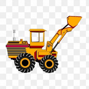 Vector Vehicle - Excavator Can Stock Photo Clip Art PNG