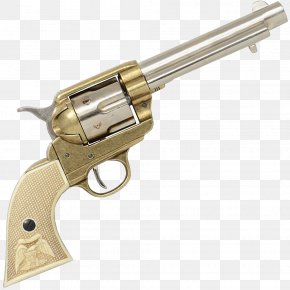 Weapon - Colt's Manufacturing Company Colt Single Action Army .45 Colt Revolver M1911 Pistol PNG