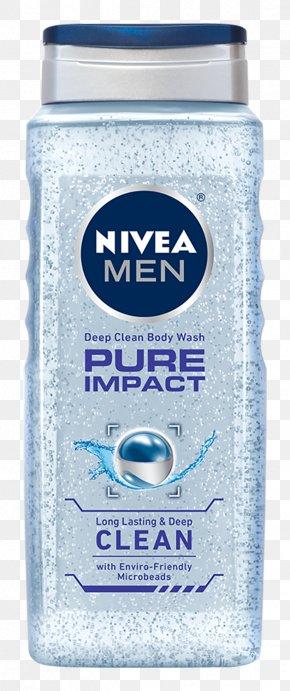 Nivea - Shower Gel NIVEA Men Creme Cosmetics Deodorant PNG