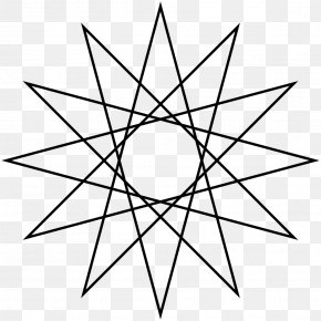 Circle - Star Polygon Five-pointed Star Circle Geometry PNG