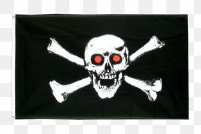Flag - Jolly Roger Flag Skull And Crossbones Piracy PNG