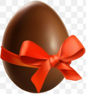 Easter Choco Egg Transparent Clip Art - Red Design Product PNG