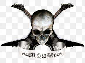 Background Skull And Crossbones - Skull And Bones Skull And Crossbones Heavy Metal PNG
