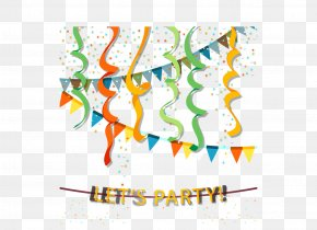 Creative Holiday Party Background Vector Material PNG