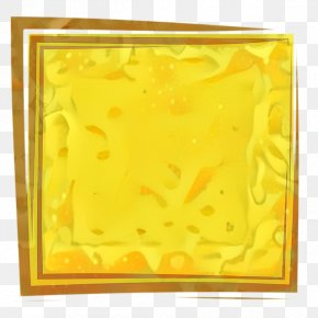 Picture Frame Yellow - Background Yellow Frame PNG