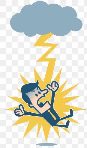 Dangerous Lightning Weather - Lightning Electrical Injury Clip Art PNG