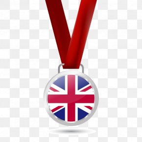 Vector British Medals - Great Britain Flag Of The United Kingdom English Icon PNG