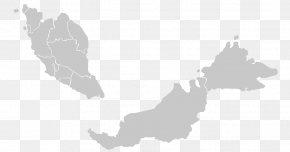 Map - Peninsular Malaysia Vector Map Flag Of Malaysia PNG