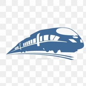 Train - Train Rail Transport Logo Track High-speed Rail PNG