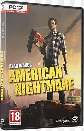 Alan Wake - Alan Wake's American Nightmare Xbox 360 Video Game PlayStation 2 PNG