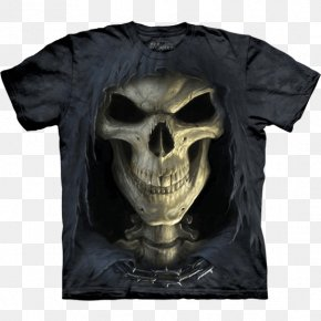 T-shirt - Long-sleeved T-shirt Death Top PNG