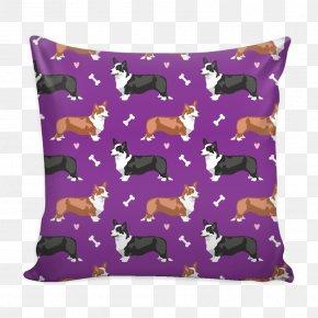 Throw Pillows - Throw Pillows Cushion Dog Canidae PNG