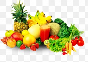 Delicious And Nutritious Fruits And Vegetables - Juice Smoothie Fruit Vegetable Nutrition PNG