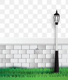 White Street Light Vector - Euclidean Vector PNG