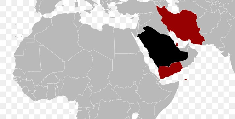 North Africa Middle East Blank Map MENA, PNG, 1024x520px ...