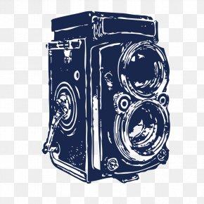 Beautifully Retro Camera - Video Camera PNG