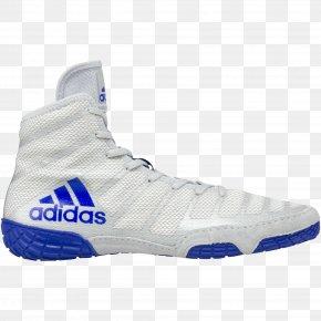 Wrestling Mart - Wrestling Shoe Adidas Sport Sneakers PNG