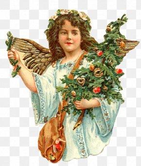 Angel - Vintage Christmas Clip Art Christmas Angel Christmas Day PNG