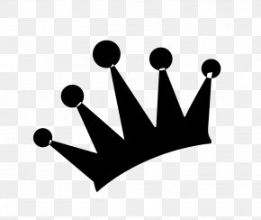 Crown Silhouette - Black Crown Imperial Crown PNG