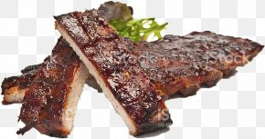 Char Siu Churrasco Food - Ribs Background PNG