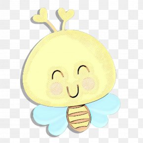 Happy Smile - Cartoon Yellow Nose Smile Happy PNG