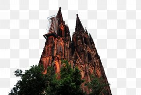Cologne Cathedral - Cologne Cathedral Gothic Architecture Building PNG