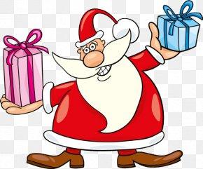 Santa Claus - Santa Claus Christmas Gift Clip Art PNG