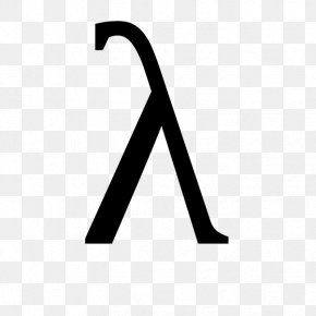Symbol - Lambda Greek Alphabet Anonymous Function Letter PNG