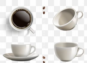 Exquisite Business Coffee Cup - Coffee Cup Espresso Ristretto Cafe PNG
