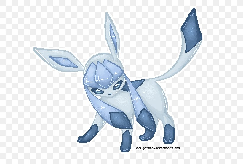 Glaceon Pixel Art Eevee Digital Art Png 630x556px Glaceon
