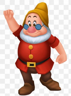Dwarf Clipart - Snow White Seven Dwarfs Dopey Sneezy PNG