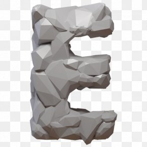 Rock - Typography Typeface Rock Letter Font PNG
