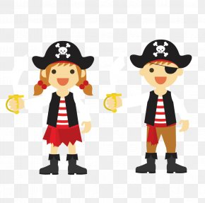 Pirate - Party Birthday Piracy Child Clip Art PNG