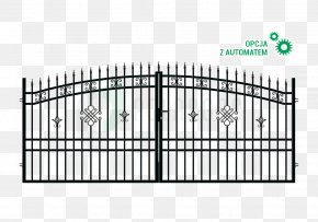 Gate - Gate Fence Wrought Iron Steel Garden PNG