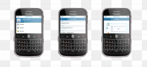 Blackberry - Mobile Phones Feature Phone Portable Communications Device Telephone Smartphone PNG