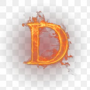 Fire - Letter English Alphabet Fire Flame PNG