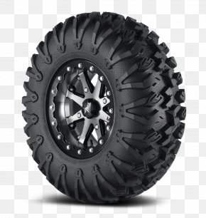 Tires - Side By Side Off-road Tire All-terrain Vehicle Tread PNG