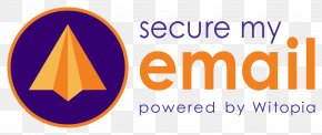 Email - Logo Email Encryption Brand Font PNG