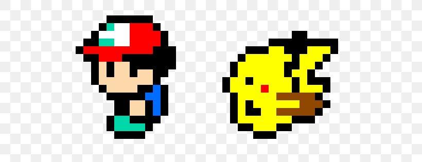 Pokémon Yellow Pikachu Ash Ketchum Pixel Art Png 585x315px