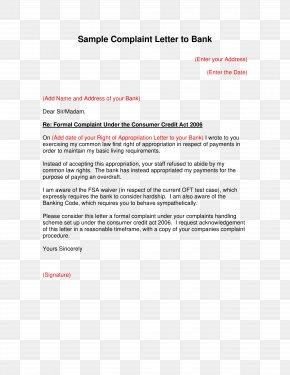 Dünya - Document Complaint Letter Form Template PNG