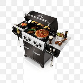 Barbecue - Barbecue Broil King Regal S440 Pro Grilling Ribs Rotisserie PNG
