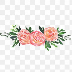 Branch Rose Order - Bouquet Of Flowers Drawing PNG