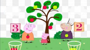 Peppa Pig - Daddy Pig Mummy Pig Domestic Pig Game Learning PNG