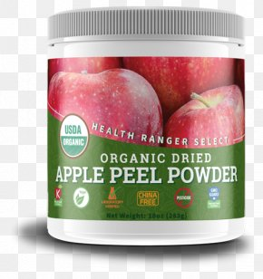 Apple - Apple Organic Food Peel Powder Health PNG