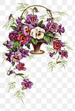 Impatiens Wildflower - Bouquet Of Flowers Drawing PNG